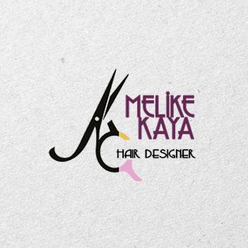 Melike Kaya Hair Designer, Logo Tasarımı